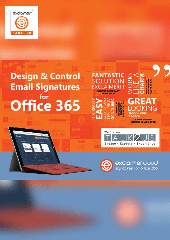 Exclaimer Email Signatures for Office 365