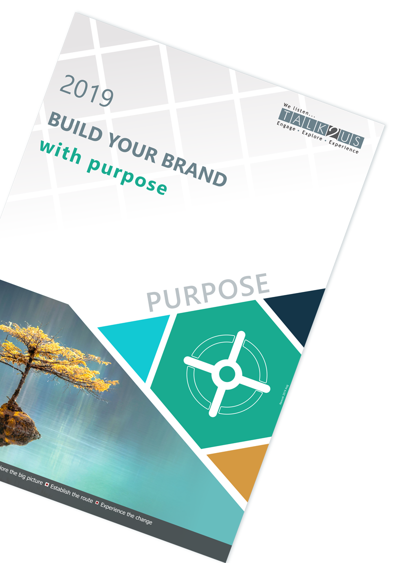 Building your brand with purpose