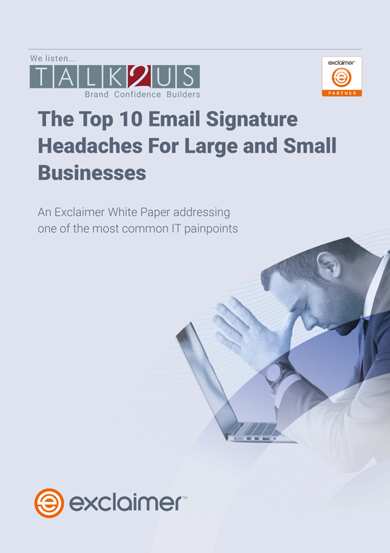 White Paper | The Top 10 Email Signature Headaches for Businesses