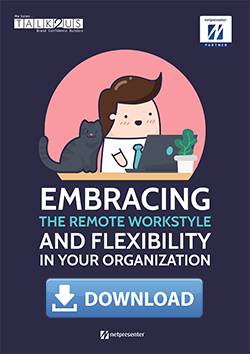 Embracing the remote workstyle and flexibility in your organization cover with download button