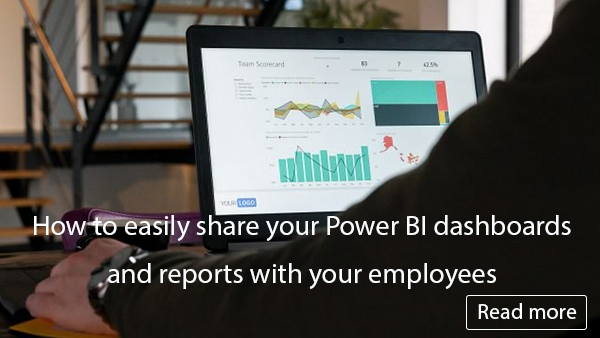 How to easily share your Power BI dashboards and reports with your employees