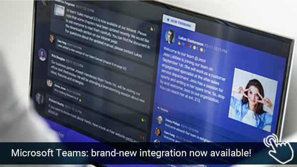 Netpresenter ❤️ Microsoft Teams: brand-new integration now available!