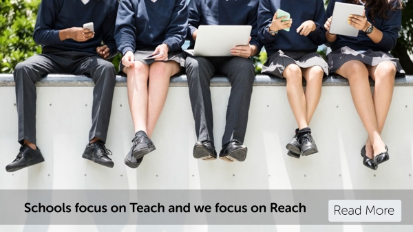 Focus on Teach and we'll focus on your Reach