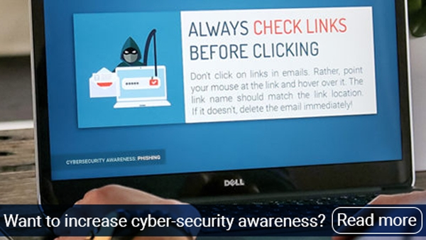 Want to increase cyber-security awareness? Our free templates offer help!