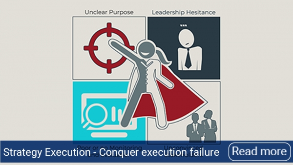 Execution failure can be conquered