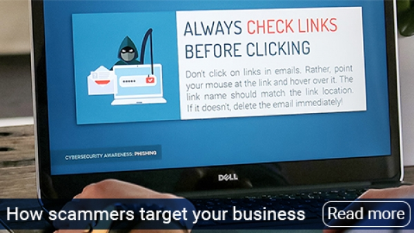 How scammers target your business and how to never fall for it