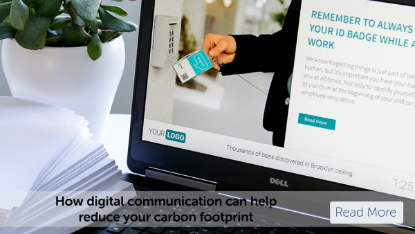 How digital communication can help reduce your carbon footprint