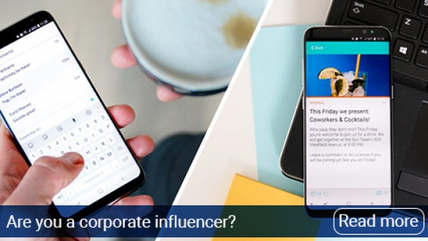 Are you a corporate influencer? Check these 5 trends in internal communication!